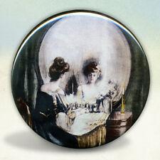 All Is Vanity Skull Pocket Mirror tartx
