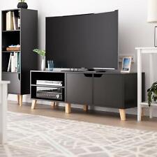 Fernsehtisch Lowboard TV Schrank Unterschrank matt Hochglanz Holzoptik