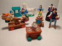 Disney Collectibles Snow White & Seven Dwarfs Playset 10 Pieces