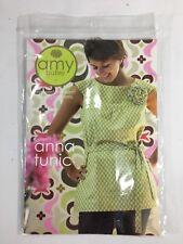 Amy Butler Sewing Pattern Anna Tunic Cami Mini Dress Fabric Flower