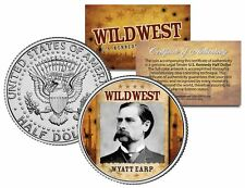 WYATT EARP * Wild West Series * JFK Kennedy Half Dollar U.S. Coin