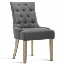 Artiss FA-CHAIR-DIN470S-GY Cayes  French Provincial Dining Chair Grey