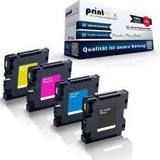 4x Cartuchos de Gel para Ricoh aficio-sg-3110-dn GC-41K gc-41c G - Impresora