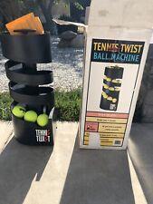 Tennis Twist Portable Ball Machine Used w/ Box Made In USA (Watch Video)