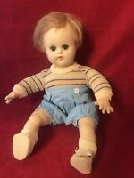 Vintage Madame Alexander 12 In Butch Baby Doll