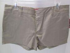 Khaki 4-Pocket Short Shorts by Dickies, Size 13, NWT