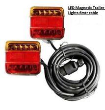 LUCI LED Magnetico Rimorchio Cavo 6 METRI 7 Spina ttjh 105B