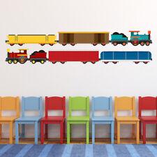 Cargo Train Transport Wall Sticker Set WS-47139