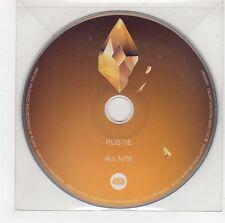 (GG527) Rustie, All Nite - 2011 DJ CD