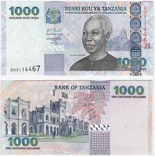 Tanzania 1000 Shillings 2003 P-36b NEUF NEU UNC Uncirculated Banknote