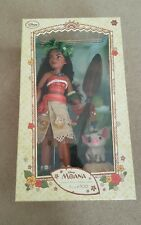 "Disney Store Limited Edition Moana Doll 17"" SOLD OUT"