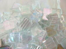 "Translucent Iridized Grab Bag Mixed Glass Mosaic Tiles 100 1/2""  FREE SHIP"
