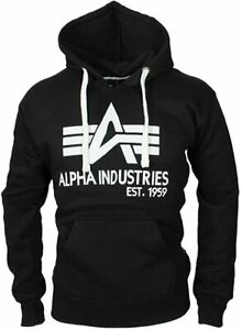 ALPHA INDUSTRIES Men's Big A Classic Hoody Training Jacket XXL