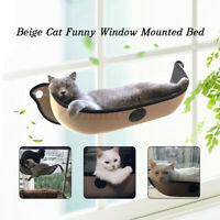 Pet Cat Hammock House Window-Mounted Hanging Pet Cushion with Suction Cup