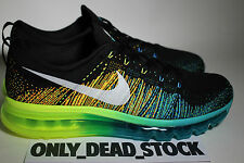 NIKE FLYKNIT MAX TURBO GREEN 11 US 45 EUR 29 CM 620469 001 ATOMIC ORANGE