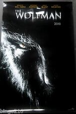 THE WOLFMAN 2010 LIMITED TO 100 GLOSS 1 SHEET POSTER  BENICIO DEL TORO