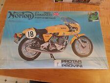 Vintage Protar Modelli Provini Norton Commando 750 Motorcycle Model #137 Sealed