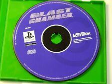 PLAYSTATION PS1 Gioco BLAST CHAMBER SOLO CD, usato ma OK