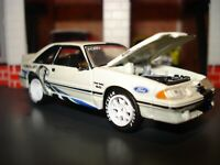 1987 87 FORD MUSTANG GT 5.0 FOX BODY LIMITED EDITION COUPE M2 1/64 TWIN TURBO