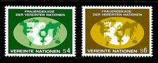 1980 United Nations (Vienna) full set of 2 stamps UN Decade for women in UMM