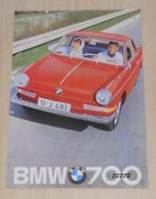 BMW 700 COUPE Car Sales Brochure Feb 1961 #W 210e 2.61