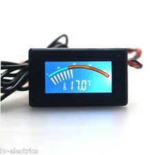 Digital Display Pointer Thermometer Temperature Meter Gauge for PC Car Celsius