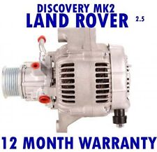 Land Rover-Discovery Mk2 Mk II de 2,5 Td5 4x4 - 1998 1999 - 2004 rmfd Alternador