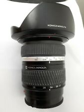 Konica Minolta AF 17-35 f2.8-4 D for Sony, very good wide angle lens