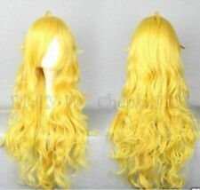 Long RWBY Yang Xiao Long Yellow Cosplay Wig  F3211