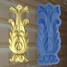 Gießformen Verzierung Silikonformen Gips Ornament Relief Deckenverzierung  (178)