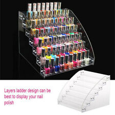 Multilayer Nail Polish Rack Acrylic Makeup Display Stand Rack Organizer Holder