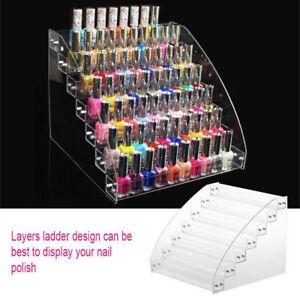 Multilayer Nail Polish Rack Acrylic Makeup Display Stand Rack Organizer Holder