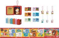 Raro Set 6 Figuras Hello Kitty Fairy Tales Mini Libros Cuentos Famosos Japan