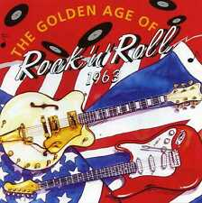 THE GOLDEN AGE OF ROCK 'N' ROLL 1963 - SHADOWS DEL SHANNON - 3 CDS - NEW!!