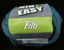 (79,50 €/kg): 300 grammi Big & Easy filo di lana grossa, colore 06 Turchese #1240