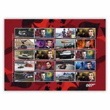 GB James Bond collector's sheet MNH 2020
