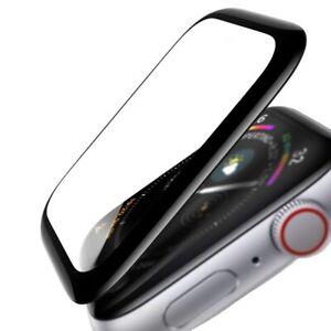 Verre trempé couverture complète 3D Contours noir pour Apple Watch 38 mm