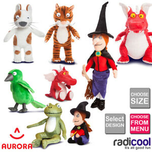 Aurora ROOM ON THE BROOM PLUSH Cuddly Soft Toy Teddy Kids Gift Brand New
