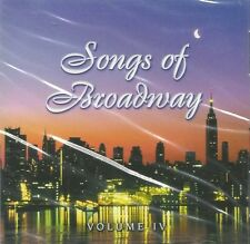 SWEETWATER MUSIC GROUP Songs of Broadway IV Orlando CD Somewhere Over Rainbow