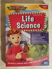 Rock N Learn: Life Science (DVD, 2009) No Scratches or Defects