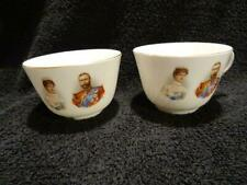Royal Doulton Cup + Similar Tea Bowl For The 1911 Coronation - George V