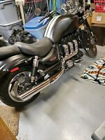 Triumph Rocket 3 Roadster (also fits R3 classic call first) performance exhaust