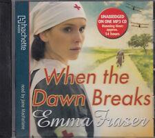 Emma Fraser When The Dawn Breaks MP3 CD Audio Book Unabridged FASTPOST