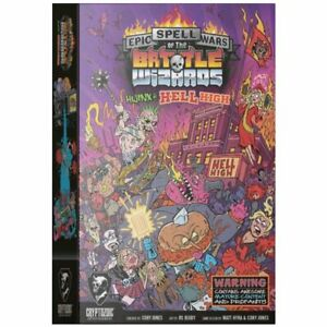 Epic Spell Wars of the Battle Wizards Hijinx at Hell High Game