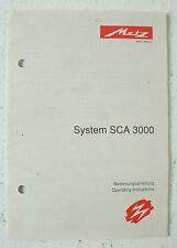 METZ - System SCA 3000 - Bedienungsanleitung Instructions - B2461