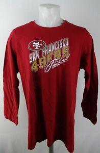 San Francisco 49ers NFL Team Apparel Women's Long Sleeve Red Shirt
