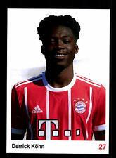 Derrick Köhn Autogrammkarte Bayern München II 2017-18
