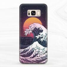 Case For Samsung S8 S9 S10 S20 Note 8 9 10 Kanagawa Wave Vaporwave Modern Japan