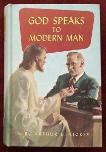 God Speaks to Modern Man by Arthur E Lickey 1952 Review and Herald Adventist SDA