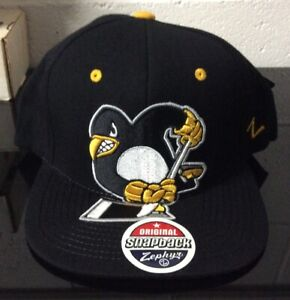 NWT Pittsburgh Penguins Zephyr Snapback Hat *SEE PICS*
